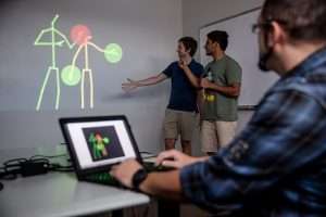 PHOTO: Students in Electrical Circuits Class, Wertheim College of Engineering