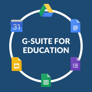 GRAPHIC: G-Suite for Education collaboration tools