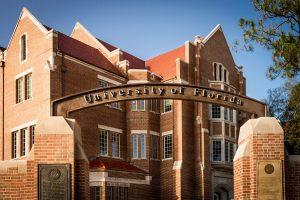 PHOTO: University of Florida Entrance Arch on University Avenue and 13 Street