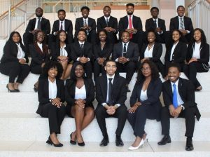 PHOTO: National Society of Black Engineers Gator Chapter, 2020-21 Executive Board