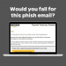 """GRAPHIC: Screenshot of Amazon Phishing Email """"Would you fall for this phish email?"""""""