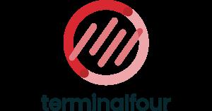 GRAPHIC: Updated 2021 TERMINALFOUR wordmark